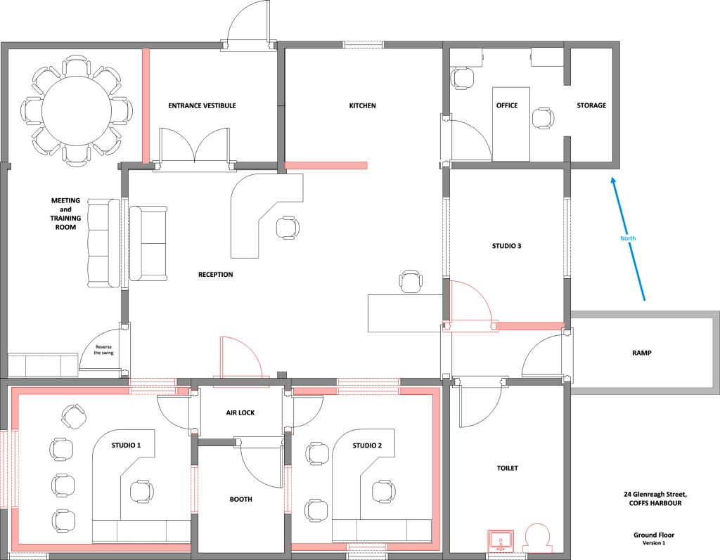 Home Renovations Online Floor Plans For The New Studios