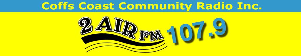 2AirFM - Coffs Coast Community Radio Inc